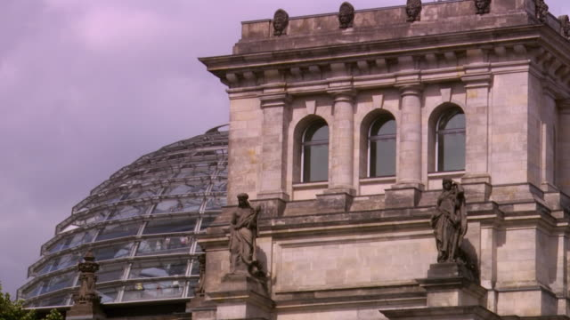 ms reichstag dome / berlin, germany - the reichstag stock videos & royalty-free footage
