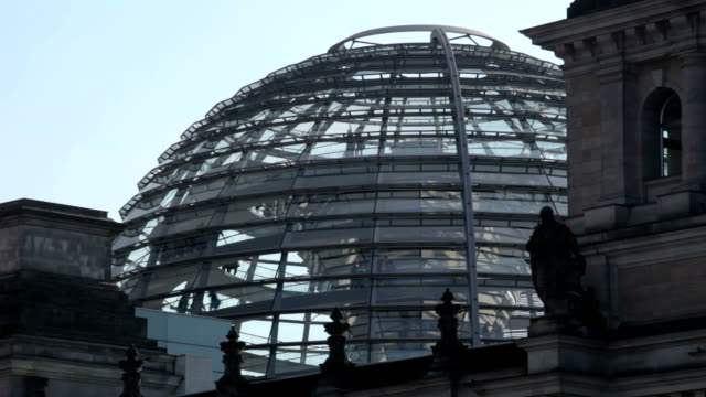 reichstag dome - cupola video stock e b–roll