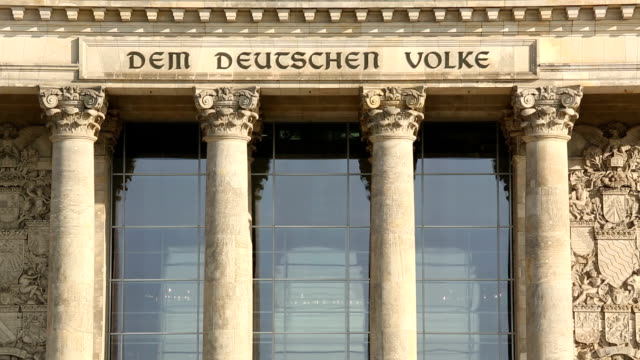 reichstag in berlin - the reichstag stock videos & royalty-free footage