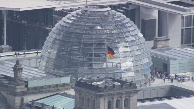 reichstag - cupola video stock e b–roll