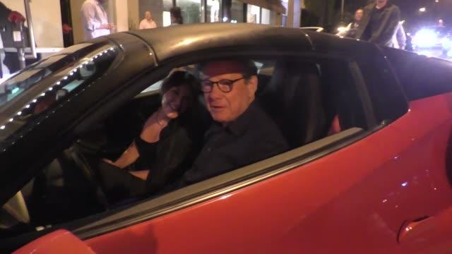 reid & michael ovitz outside craig's restaurant in west hollywood in celebrity sightings in los angeles, - michael ovitz stock videos & royalty-free footage