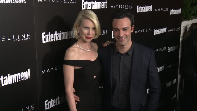 reid scott and elspeth keller at 2016 entertainment weekly screen actors guild party at chateau marmont on january 29 2016 in los angeles california - entertainment weekly stock-videos und b-roll-filmmaterial