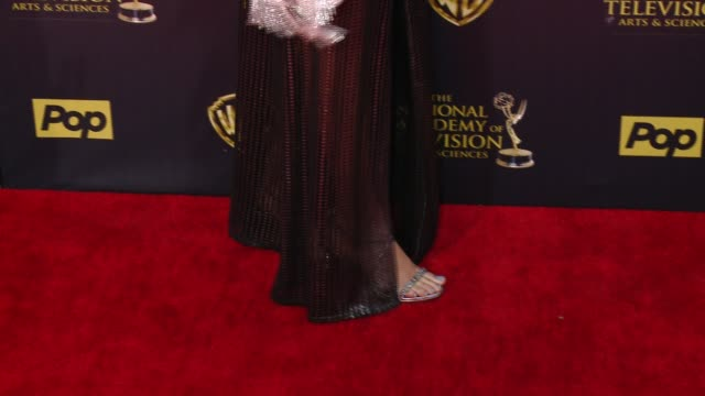 Reign Edwards at 42nd Annual Daytime EMMY Awards at Warner Bros Studios on April 26 2015 in Burbank California