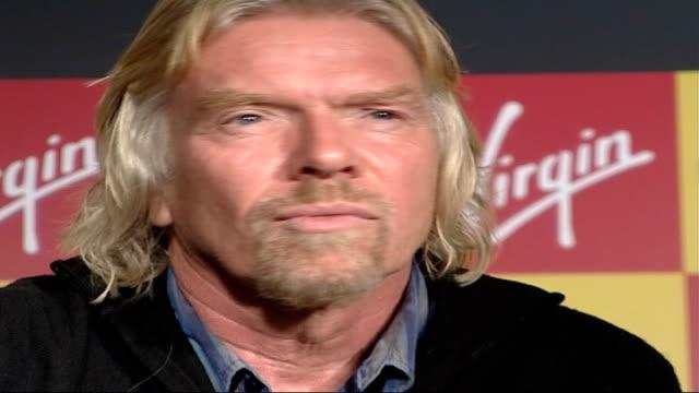 Sir Richard Branson condemns Murdoch shares purchase Manchester Arndale Centre Branson at Virgin Megastore opening