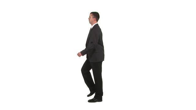 stockvideo's en b-roll-footage met hd: rejoicing businessman - menselijke arm