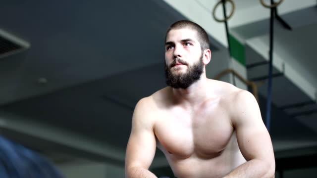 Koppla av i gymmet