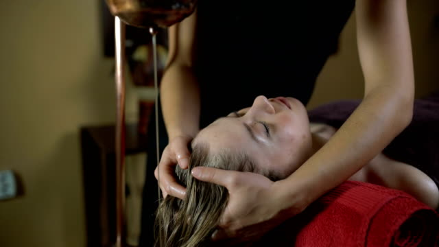 relaxation and beautification - massage table stock videos and b-roll footage