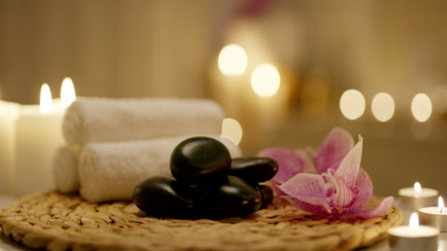 relaxation awaits - spa stock videos & royalty-free footage