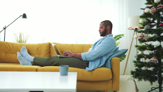 relaxed and connected. - young men stock videos & royalty-free footage