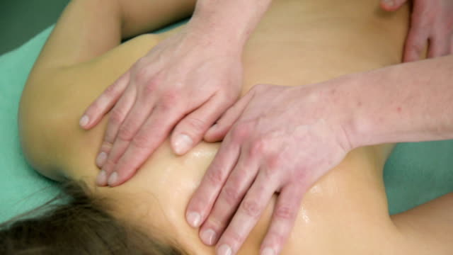 relaxing massage - massager stock videos and b-roll footage