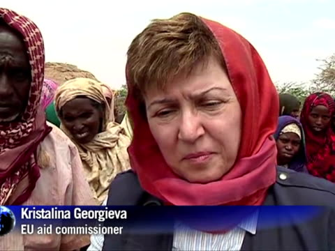 relief efforts continue to support 12 million people facing drought in the horn of africa as the un prepares to host emergency talks on the crisis in... - horn of africa stock videos & royalty-free footage