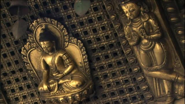 Relief of Budda, Medium Shot Zoom in_Close Shot