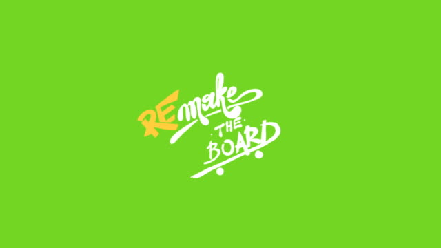 stockvideo's en b-roll-footage met remake the board - inscription - bord bericht