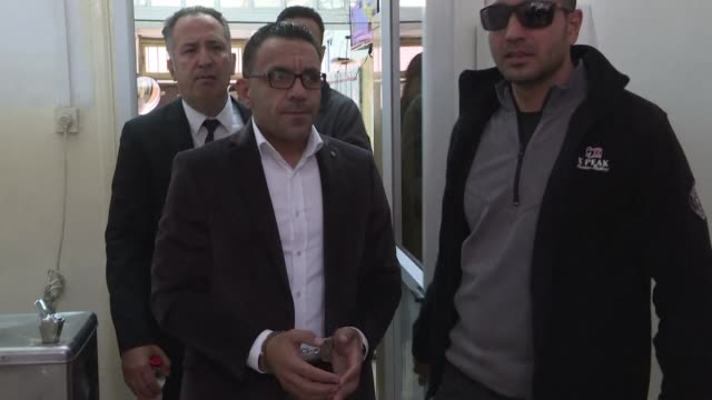 stockvideo's en b-roll-footage met remand hearing for palestinian governor of jerusalem adnan gheith arrested by israeli security forces for the second time in as many months after an... - politicus