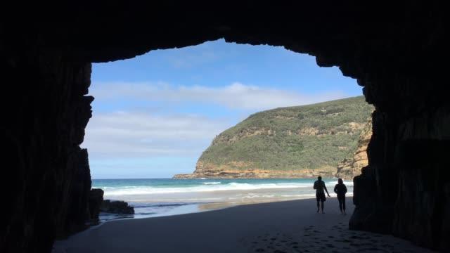 Remarkable Cave Tasman national park Tasmania Australia