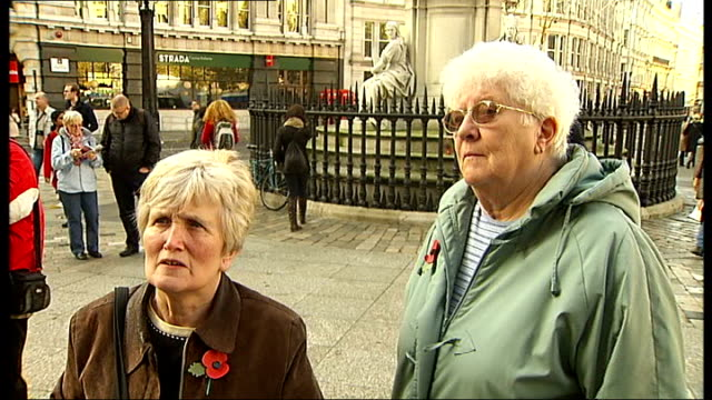 st paul's cathedral service and anticapitalist camp people entering st paul's cathedral to attend remembrance sunday service / man wearing mockup of... - cap mockup stock videos & royalty-free footage