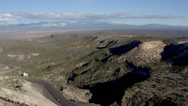 remote desert aerial: new mexico - climate stock videos & royalty-free footage