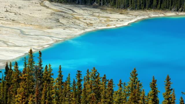 remote location environment blue glacial water time lapse - remote location bildbanksvideor och videomaterial från bakom kulisserna