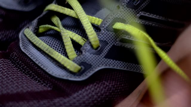 remove shoelace - strip stock videos & royalty-free footage