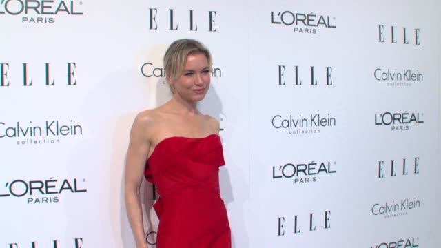 ren_e zellweger at the elle's 16th annual women in hollywood tribute at beverly hills ca - renée zellweger stock videos and b-roll footage
