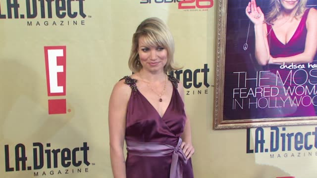 Rena Riffel at the LA Direct Magazine's Holiday Party at Les Deux in Los Angeles California on December 14 2007