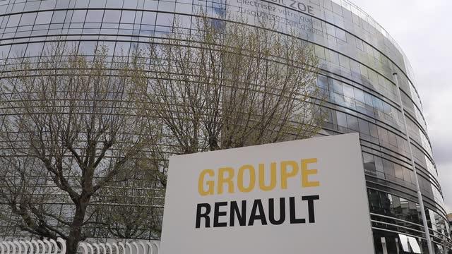 FRA: Renault Employees Demonstration
