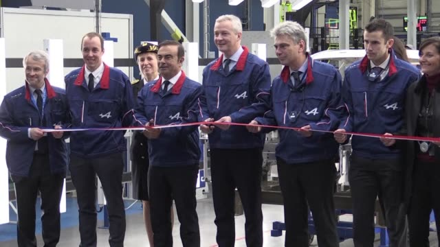 Renault's CEO and the French economy minister on Thursday opened a factory in Dieppe which will make a new version of the Alpine a brand which gained...