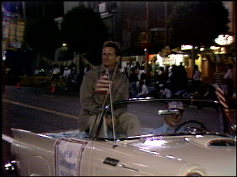 rene auberjonois at the hollywood bike race on september 11, 1986. - 1986 stock videos & royalty-free footage