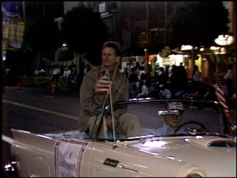 rene auberjonois at the hollywood bike race on september 11 1986 - 1986 stock videos & royalty-free footage