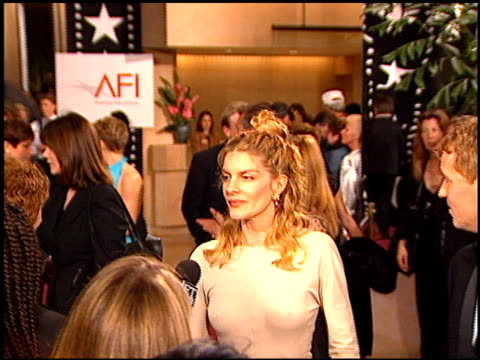 Rene Russo at the AFI Honors Honoring Clint Eastwood entrances at the Beverly Hilton in Beverly Hills California on March 1 1996