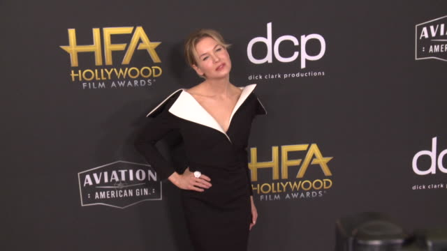 renée zellweger at the 23rd annual hollywood film awards at the beverly hilton hotel on november 03 2019 in beverly hills california - renee zellweger stock videos & royalty-free footage