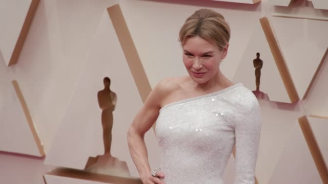 renée zellweger at the 92nd annual academy awards at the dolby theatre on february 09 2020 in hollywood california - renee zellweger stock videos & royalty-free footage