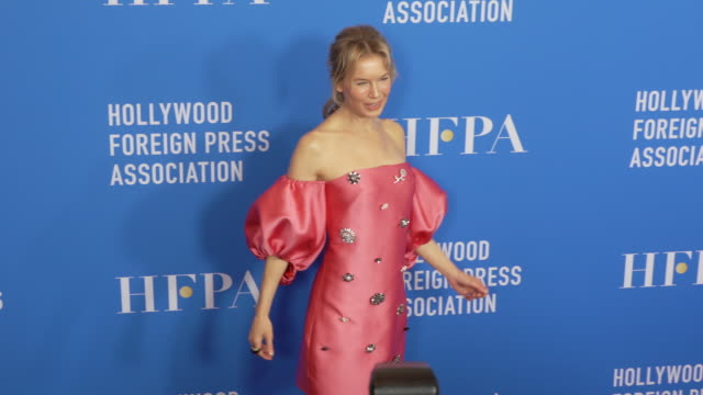 renée zellweger at the hollywood foreign press association's annual grants banquet on july 31 2019 in beverly hills california - renee zellweger stock videos & royalty-free footage