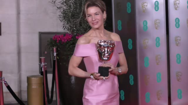 renée zellweger attends the ee british academy film awards 2020 after party at the grosvenor house hotel on february 02 2020 in london england - british academy film awards stock videos & royalty-free footage