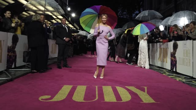 renée zellweger attends the judy european premiere at at the curzon mayfair on september 30 2019 in london england - renee zellweger stock videos & royalty-free footage