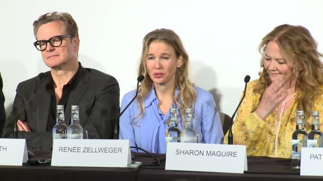 interview renée zellweger on bridget jones at claridge's hotel on september 05 2016 in london england - renée zellweger stock videos and b-roll footage
