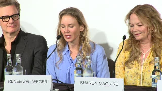 renée zellweger on having a 'bridget moment' at claridge's hotel on september 05, 2016 in london, england. - claridge's stock videos & royalty-free footage