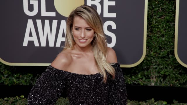 Renee Bargh at the 75th Annual Golden Globe Awards at The Beverly Hilton Hotel on January 07 2018 in Beverly Hills California