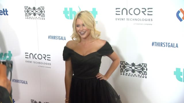 Renee Olstead at 6th Annual Thirst Gala Hosted by Pauley Perrette in Los Angeles CA