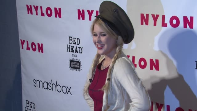 Renee Olstead at NYLON 13th Anniversary Issue Celebration on 4/10/12 in West Hollywood CA