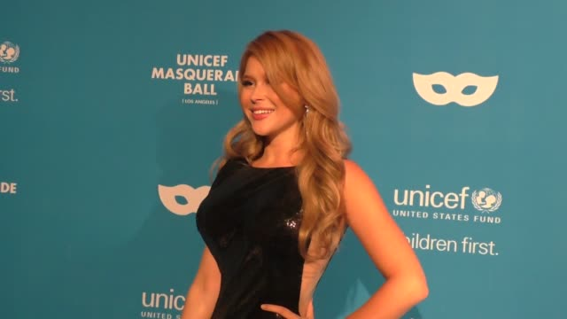 Renee Olstead at the 4th Annual UNICEF Masquerade Ball on October 27 2016 in Los Angeles California