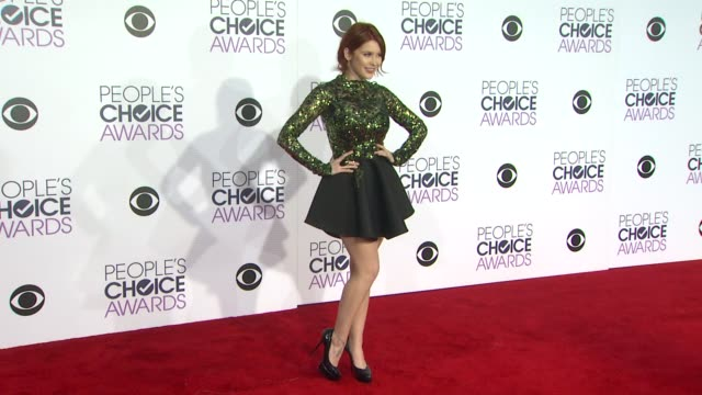 Renee Olstead at the People's Choice Awards 2016 at Nokia Plaza LA LIVE on January 6 2016 in Los Angeles California