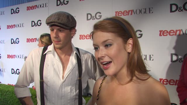 Renee Olstead on being a part of the night what she appreciates about Teen Vogue at the 7th Annual Teen Vogue Young Hollywood Party at Hollywood CA