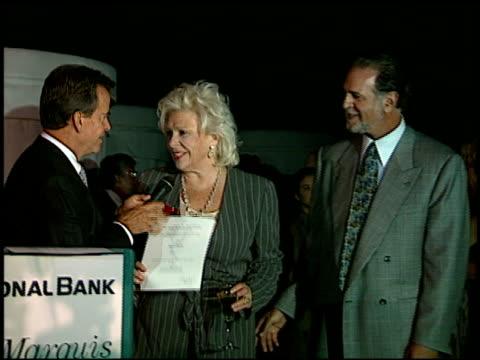 vídeos y material grabado en eventos de stock de renee taylor at the 1996 emmy nomination party at the marque hotel in westwood california on september 4 1996 - westwood