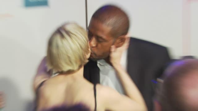 renee zellweger and forest whitaker at the 'my own love song' premiere 9th annual tribeca film fest at new york ny - open collar stock videos and b-roll footage