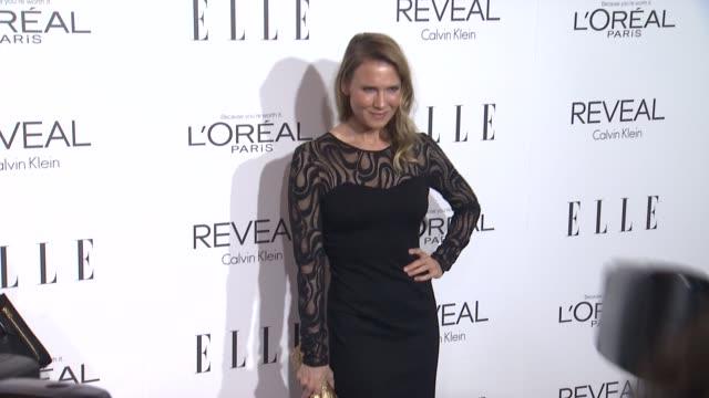 renee zellweger at elle's 21st annual women in hollywood celebration in los angeles ca - renee zellweger stock videos & royalty-free footage