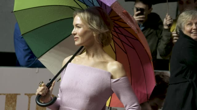 renee zellweger at 'judy' european premiere at the curzon mayfair on september 30, 2019 in london, england. - city of london stock videos & royalty-free footage
