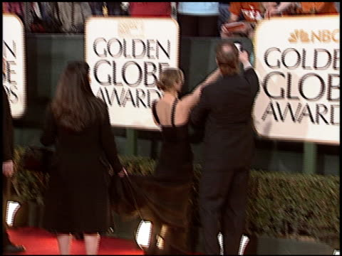 renee zellweger at the 2006 golden globe awards at the beverly hilton in beverly hills california on january 16 2006 - renée zellweger stock videos and b-roll footage
