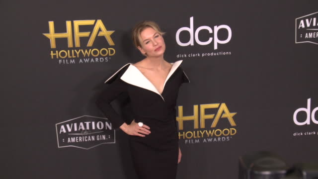 renée zellweger at the 23rd annual hollywood film awards - renee zellweger stock videos & royalty-free footage