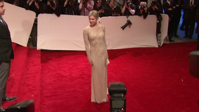 renee zellweger at the 'alexander mcqueen savage beauty' costume institute gala at the metropolitan museum of art at new york ny - renee zellweger stock videos & royalty-free footage